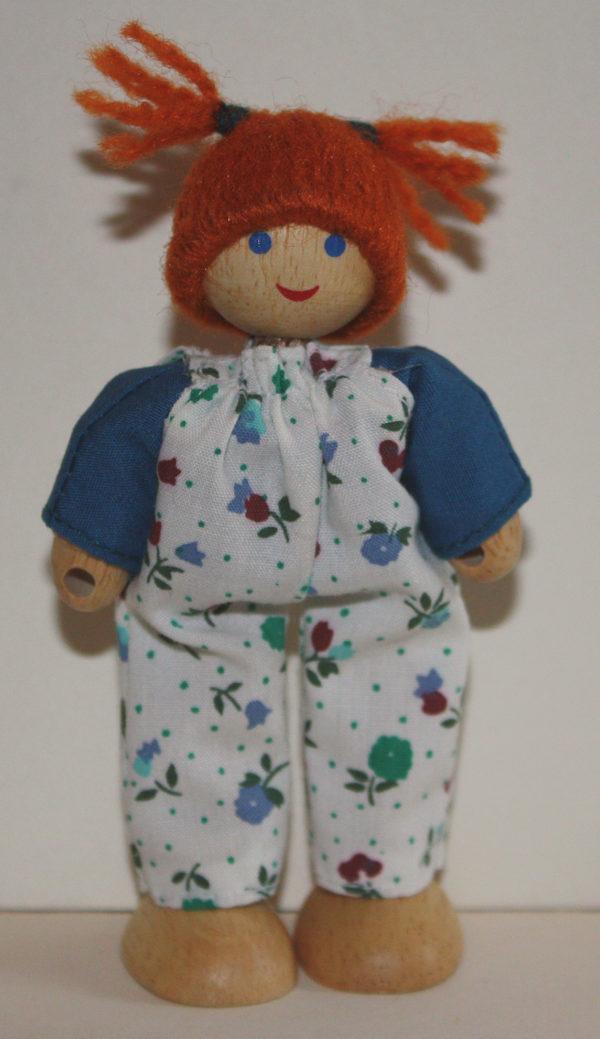 Red Head Doll, Flexible