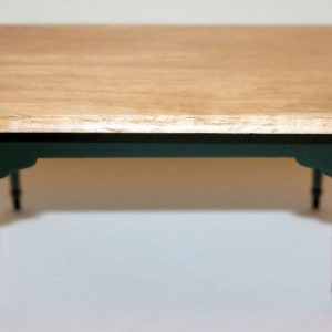Green and Pine Top Table