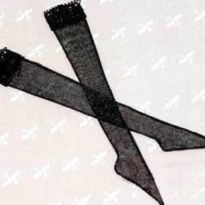 Ladies stockings in black