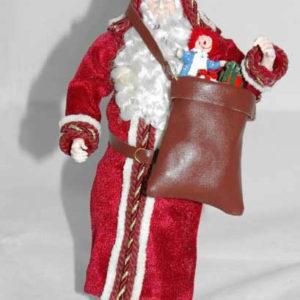 Santa doll, handcrafted
