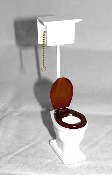 Single toilet, Victorian Bare Wood only