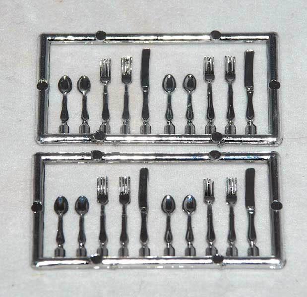 Cutlery, silver,  20 piece