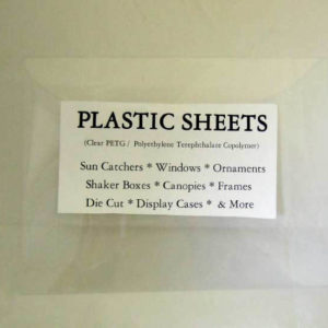 Acetate sheet for windows, etc.