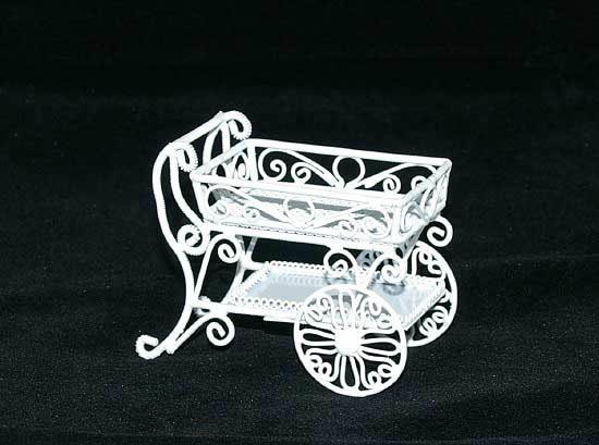 Tea trolley or flower cart