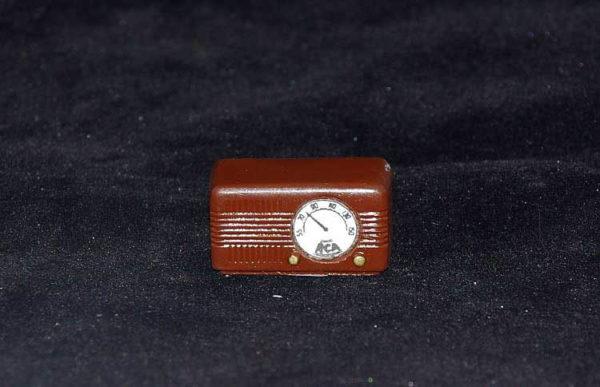 Old fashioned brown radio
