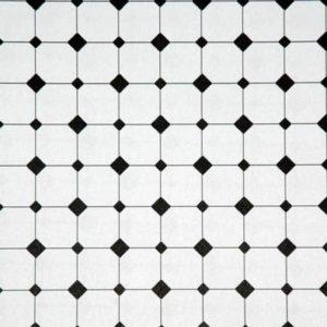 Diamond tile, white background