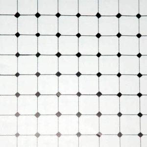 Diamond tile, cream background