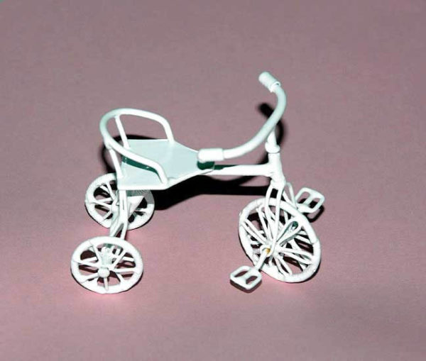 White tricycle