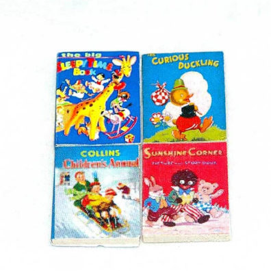 Childrens books, 4 pack