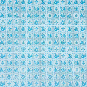 Old Dutch tile, blue and white