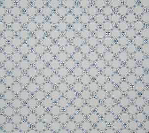 New Dutch tile, white and blue