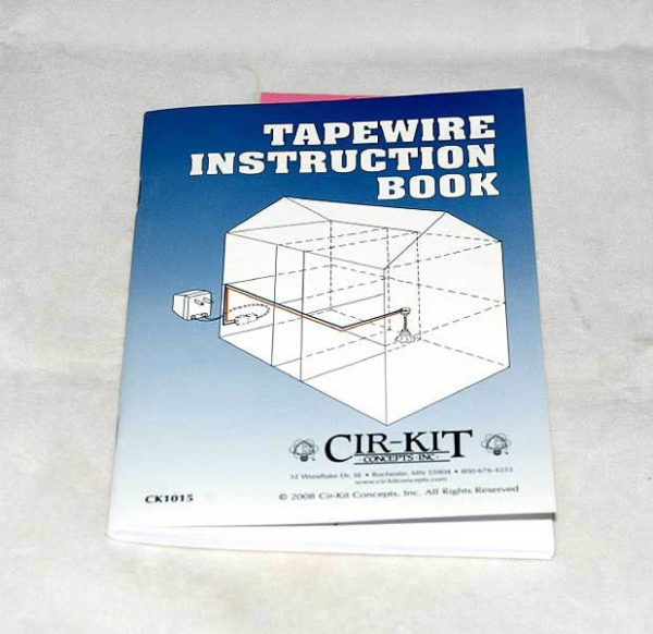 Instruction book - tapewire