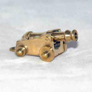 Mini cannon, gold