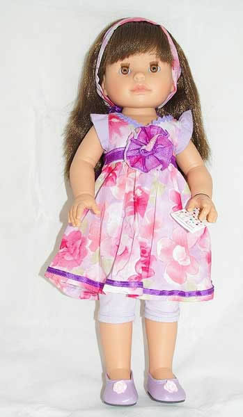 Paola Reina Brunette doll, different outfits available
