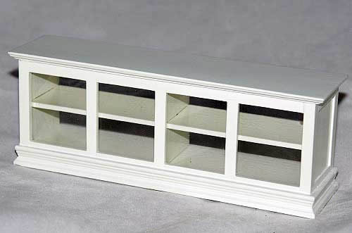 Low display cabinet white
