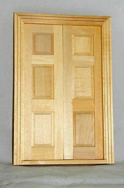 6 panel front double door