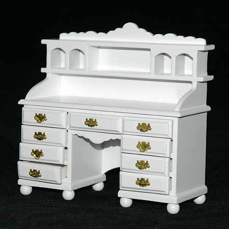 Ladies desk white  quality piece