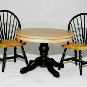 Brunswick green and pine 3 piece table and chairs