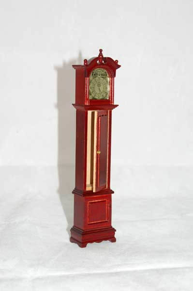 High grandfather clock