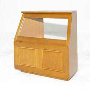 Shop cabinet walnut