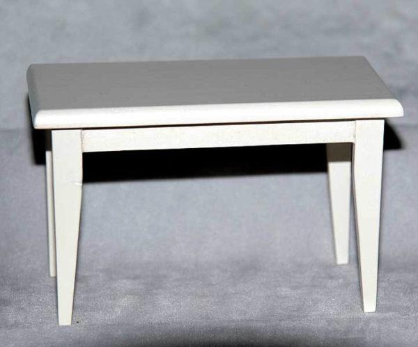 Kitchen table, white