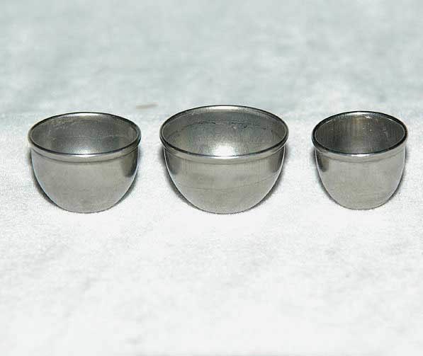 Mixing bowls, metal set 3