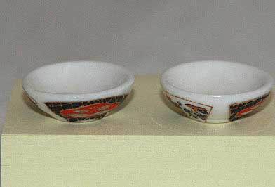 Bowls,  floral