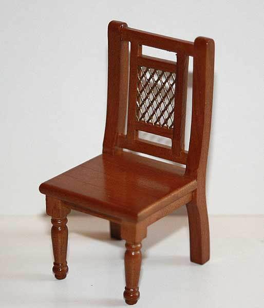 Dining chair, light walnut