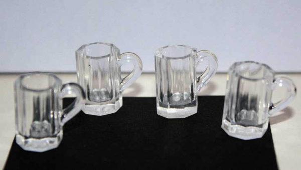 Beer mugs, set 4