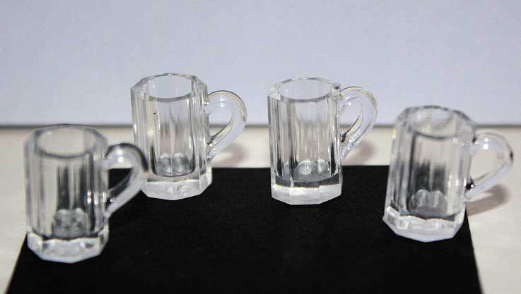 Beer mugs, set 4