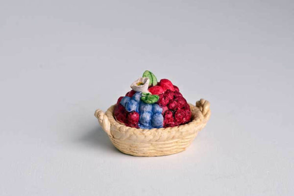 Berry topped tureen dish