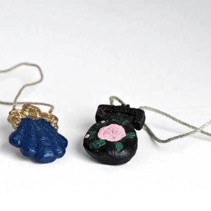 2 piece old fashioned ladies handbag