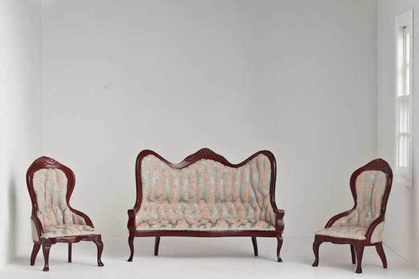 Victorian lounge set of 3