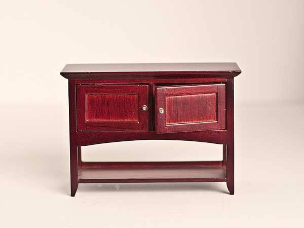Mahogany display table