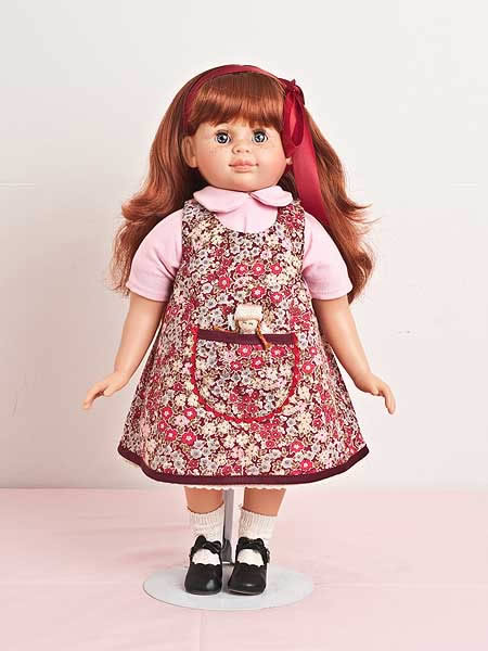 Red hair  doll  different outfits available