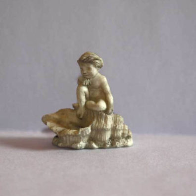 Birdbath or statue