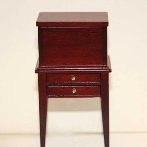 Sewing cabinet, mahogany
