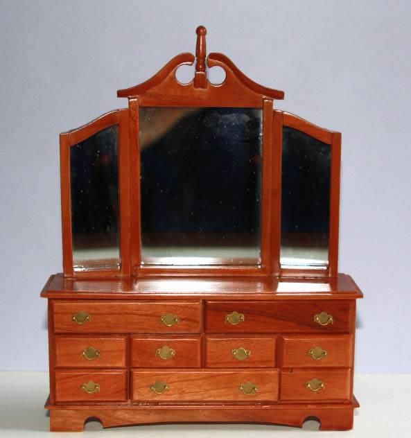 Pecan coloured dresser