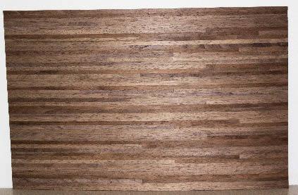 Black walnut timber floor