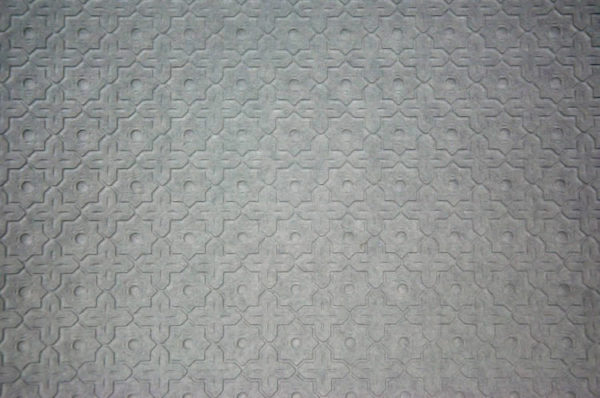 Embossed paper for metal ceilings, small pattern