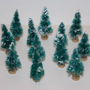 Christmas trees, set 12