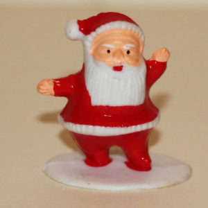 Father Christmas, small plastic