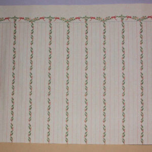 Wallpaper holly stripes