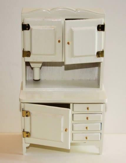 Old fashioned kitchen dresser