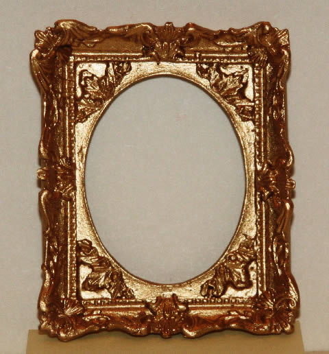 Gold decorated frame small
