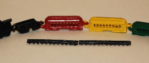 Train set, 5 pce metal