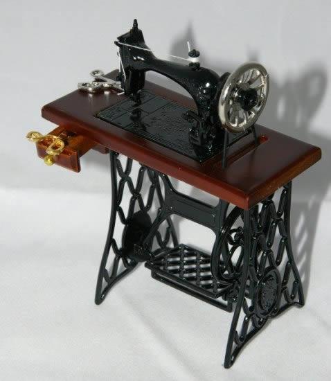 Mahogany sewing machine