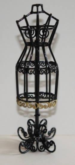 Mannequin-black wire