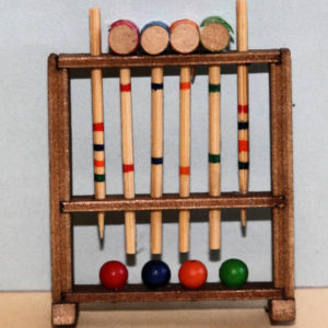 Croquet mallets and balls