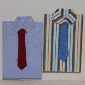 Mens shirt and tie
